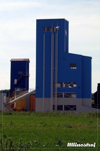 Здание с строительными растворами мытый бетон купить в москве